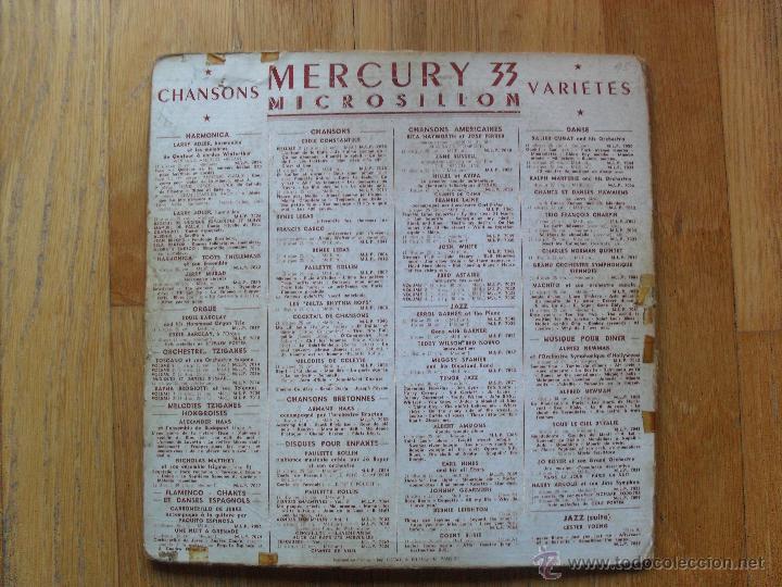 Discos de vinilo: FRANKIE LAINE, FAVOURITES BY THE RIVER ST MARIE, MERCURY, 1949 10 Pulgadas - Foto 2 - 51542035