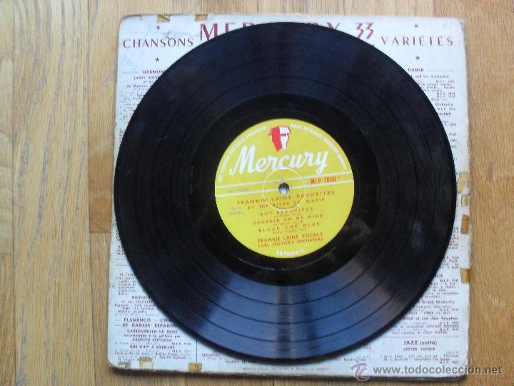 Discos de vinilo: FRANKIE LAINE, FAVOURITES BY THE RIVER ST MARIE, MERCURY, 1949 10 Pulgadas - Foto 4 - 51542035