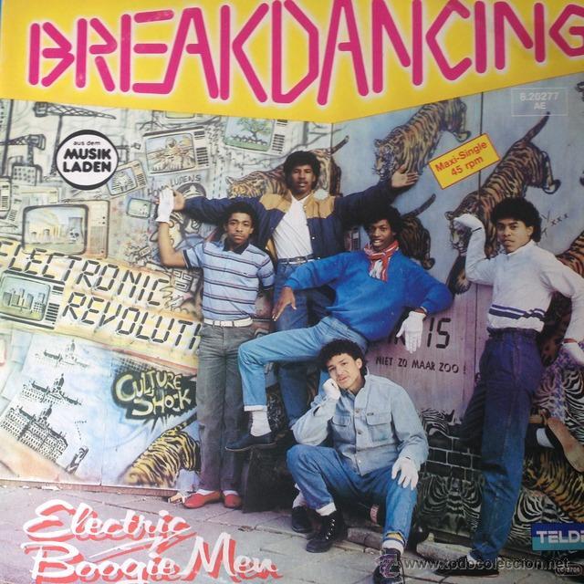 ELECTRIC BOOGIEMEN - BREAKDANCING . MAXI SINGLE . 1984 GERMANY (Música - Discos de Vinilo - Maxi Singles - Rap / Hip Hop)