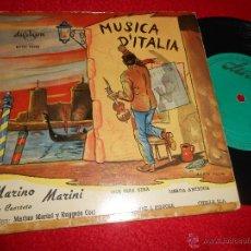 Discos de vinilo: MARINO MARINI CUARTETO QUE SERA/LISBOA ANTIGUA/DONNE E PISTOLE/CHELLA LLA EP DURIUM 195? ESPAÑA SPAI. Lote 51553092