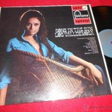 Discos de vinilo: LOS VALLDEMOSA SONG IN THE SUN LP 1963 FONTANA EDICION INGLESA ENGLAND UK. Lote 51558825