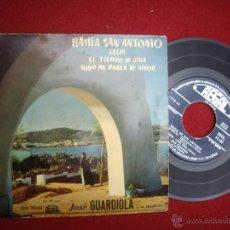 Discos de vinilo: JOSÉ GUARDIOLA: EP REGAL SEDL19.150, AÑOS 50. BAHIA SAN ANTONIO / IBIZA / EL TIEMPO LO DIRA . Lote 51561657