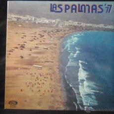 Discos de vinilo: GRANDES EXITOS DEL 77 LAS PALMAS 77 MOVIEPLAY 1976. Lote 51563764