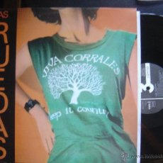 Discos de vinilo: LAS RUEDAS*VIVA CORRALES*LP 3 CIPRESES 1988. Lote 51564407