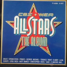 Discos de vinilo: ALLSTARS THE ALBUM CBS WEA 1988 DOBLE. Lote 51564464