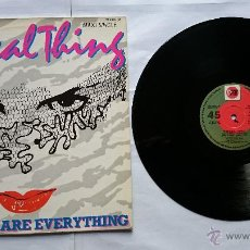Discos de vinilo: THE REAL THING - YOU TO ME ARE EVERYTHING / FOOT TAPPIN' / CHILDREN OF THE GHETTO (MAXI 1986). Lote 51565013