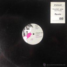 Discos de vinilo: STARDUST - CRACKED ACTOR . MAXI SINGLE . 1988 SUIZA . Lote 51574307