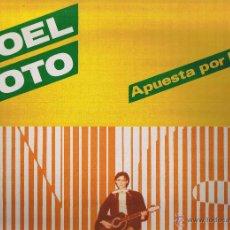 Discos de vinilo: SOLO FUNDA - NOEL SOTO - APUESTA POR LA PAZ - SOLO FUNDA. Lote 51577696