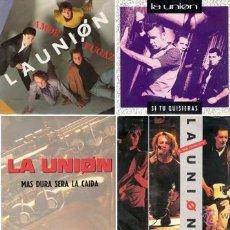 Discos de vinilo: LA UNIÓN - LOTE DE 8 SINGLES 7'' PROMOCIONALES. Lote 51578670