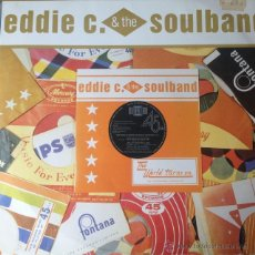 Discos de vinilo: EDDIE C. & THE SOULBAND - THE WORLD TURNS ON . MAXI SINGLE . 1985 UK . Lote 51579735