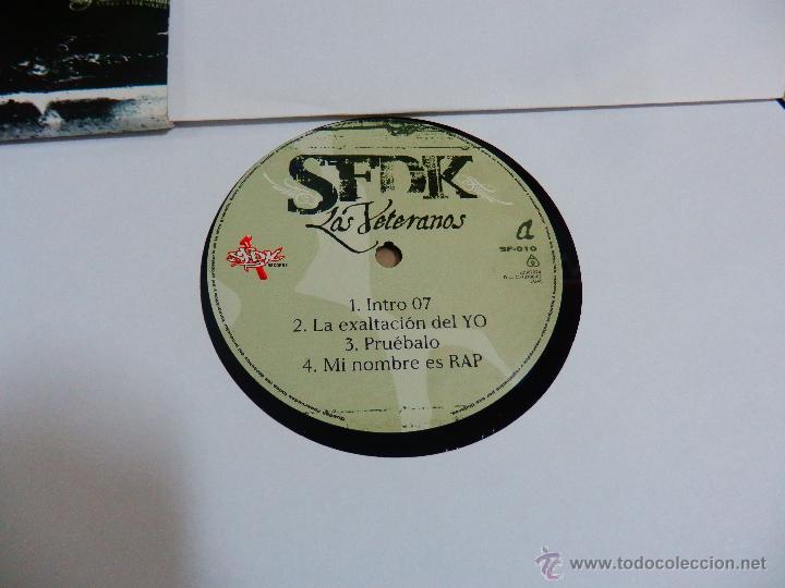 Discos de vinilo: SFDK LOS VETERANOS 2 LP DISCOS VINILOS NUEVOS HIP HOP RAP ESPAÑOL V5 - Foto 3 - 51580617
