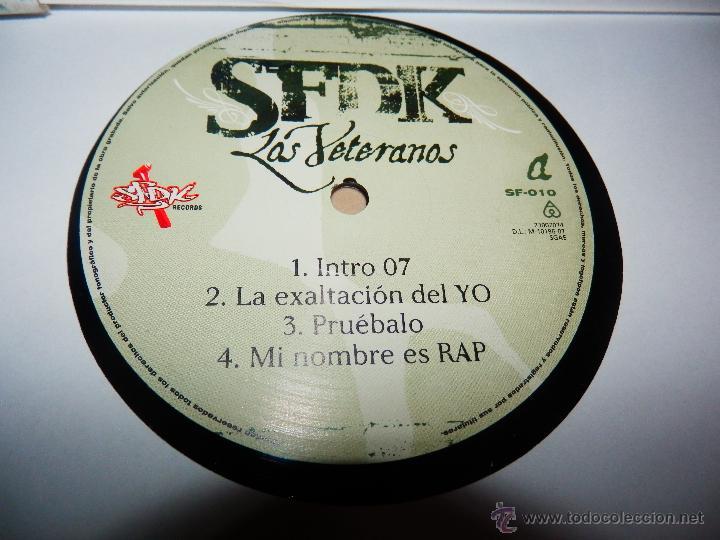 Discos de vinilo: SFDK LOS VETERANOS 2 LP DISCOS VINILOS NUEVOS HIP HOP RAP ESPAÑOL V5 - Foto 4 - 51580617