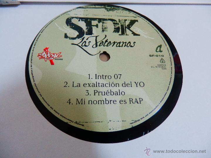 Discos de vinilo: SFDK LOS VETERANOS 2 LP DISCOS VINILOS NUEVOS HIP HOP RAP ESPAÑOL V5 - Foto 5 - 51580617