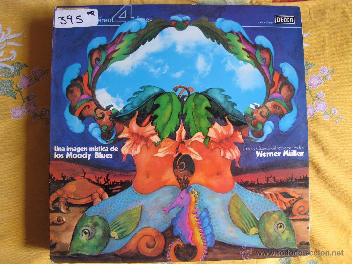 LP - WERNER MULLER, COROS Y ORQUESTA DEL FESTIVAL DE LONDRES - UNA IMAGEN MITICA DE LOS MOODY BLUES (Música - Discos - LP Vinilo - Orquestas)