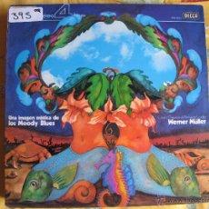 Disques de vinyle: LP - WERNER MULLER, COROS Y ORQUESTA DEL FESTIVAL DE LONDRES - UNA IMAGEN MITICA DE LOS MOODY BLUES. Lote 51582472