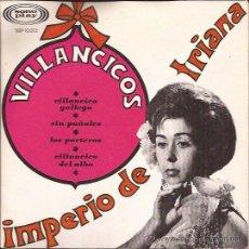 Discos de vinilo: EP-IMPERIO DE TRIANA VILLANCICOS SONOPLAY 10013 SPAIN 1966-PORTADA ABIERTA GATEFOLD. Lote 51584569