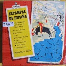 Discos de vinilo: LP - ESTAMPAS DE ESPAÑA - GRAN ORQUESTA ESPAÑOLA BAJO LA DIRECCION DE GOMEZ DE ARRIBA . Lote 51585700