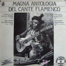 Discos de vinilo: MAGNA ANTOLOGIA DEL CANTE FLAMENCO (MAXI) HISPAVOX 1982 - PROMO! - EX/EX+. Lote 71081922