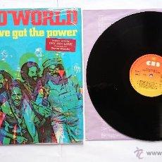 Disques de vinyle: THIRD WORLD - YOU'VE GOT THE POWER (1982). Lote 51589800