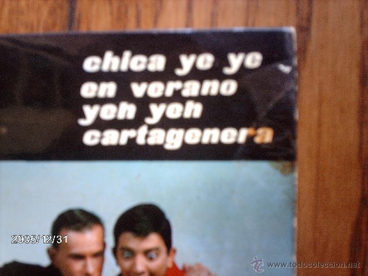Discos de vinilo: los 3 sudamericanos - cartagenera + en verano + ¡ yeh, yeh! + chica ye ye - Foto 2 - 51597111