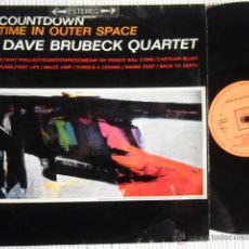 Discos de vinilo: THE DAVE BRUBECK QUARTET - '' COUNTDOWN : TIME IN OUTER SPACE '' LP ORIGINAL SPAIN 1965. Lote 74240258