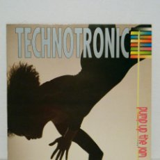 Discos de vinilo: TECHNOTRONIC PUMP UP THE JAM 1989. Lote 51606952
