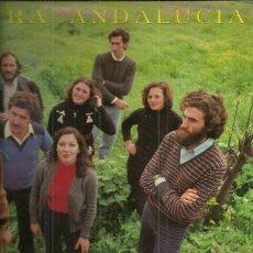 Discos de vinilo: JARCHA LP SELLO ZAFIRO-IMPERIAL AÑO 1983 EDITADO EN ESPAÑA NUESTRA ANDALUCIA. Lote 51609239