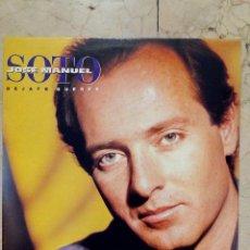 Discos de vinilo: LP JOSE MANUEL SOTO - DEJATE QUERER - EPIC 1991.. Lote 51609863