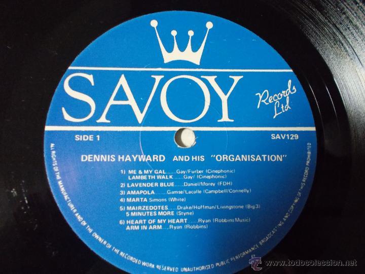 Discos de vinilo: DENNIS HAYWARD ORGANISATION.. EDICION INGLESA 1985 - Foto 2 - 51613135