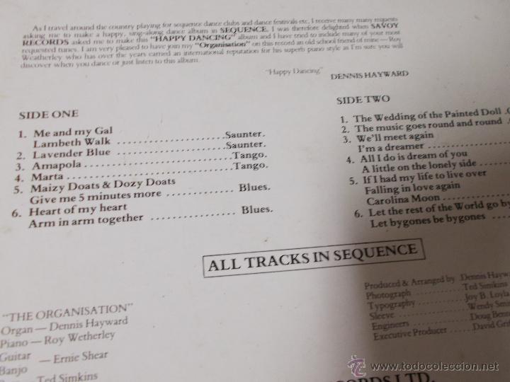 Discos de vinilo: DENNIS HAYWARD ORGANISATION.. EDICION INGLESA 1985 - Foto 3 - 51613135