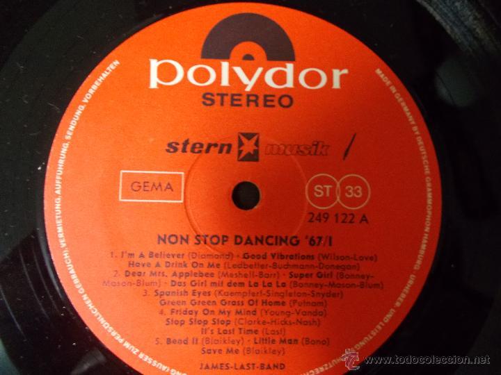 Discos de vinilo: 67 NON STOP DANCING. EDICION ALEMANA - Foto 2 - 51613755