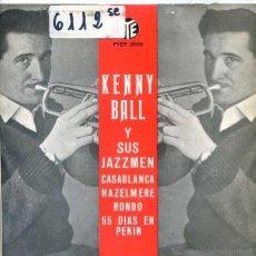 Discos de vinilo: KENNY BALL Y SUS JAZZMEN / CASABLANCA / RONDO + 2 (EP 1963). Lote 51614430