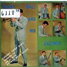 Discos de vinilo: KENNY BALL Y SUS JAZZMEN / CORNET CHOP SUEY / POTATO HEAD BLUES + 2 (EP 1962). Lote 51614505