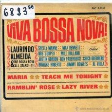 Discos de vinilo: LAURINDO ALMEIDA & THE BOSSA NOVA ALLSTARS / MARIA / RAMBLIN' ROSE + 2 (EP 1963). Lote 51614625