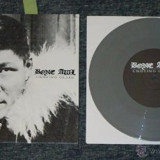 Discos de vinilo: BONE AWL - UNDYING GLARE - SINGLE-SIDED 7'' [VINILO GRIS · LIMITADO A 200 COPIAS]. Lote 51614684