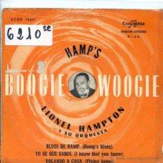 Discos de vinilo: LIONEL HAMPTON / BLUES DE HAMP / YO SE QUE SABES + 2 (EP 1958). Lote 51614745