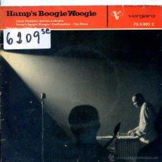 Discos de vinilo: LIONEL HAMPTON / HAMP'S BOOGIE WOOGIE / CONFIRMATION + 1 (EP 1962). Lote 51614753