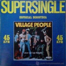 Discos de vinilo: VILLAGE PEOPLE - SLEAZY - MAXI SINGLE ESPAÑOL RARO DE VINILO. Lote 51615711