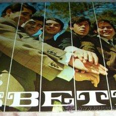 Discos de vinilo: LOS BETA - INCENDIO EN RIO + 3 - EP SONO PLAY ESTADO EXCELENTE. Lote 51619814
