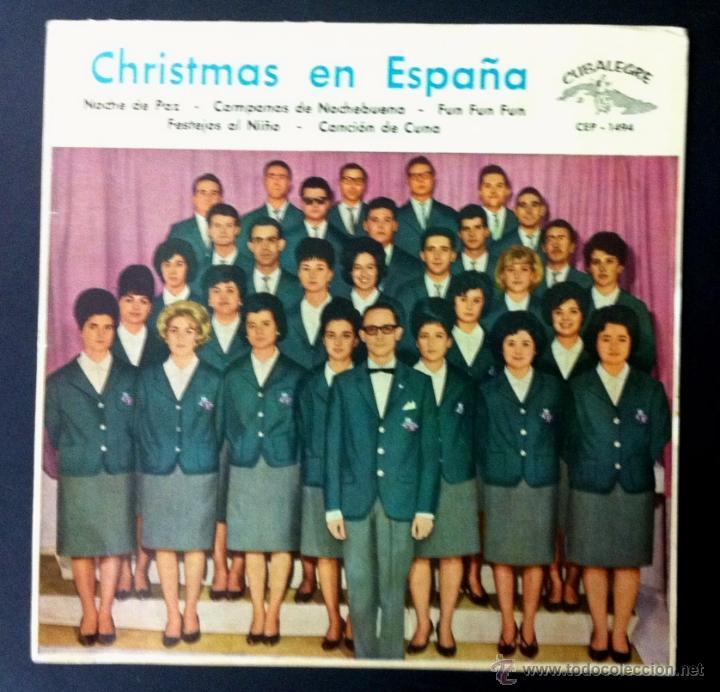 ORFEÓN DE GALERÍAS PRECIADOS - 1962 - DIRECTOR: ALBERTO M. PEYROU (Música - Discos de Vinilo - EPs - Otros estilos)