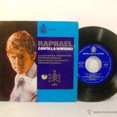 Discos de vinilo: RAPHAEL CANTA LA NAVIDAD. 1965. Lote 86645512