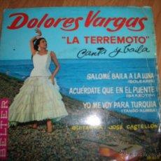 Discos de vinilo: DOLORES VARGAS. Lote 51623166