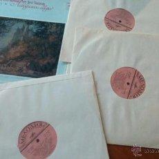 Discos de vinilo: TCHAIKOVSKY EL LAGO DE LOS CISNES. TRIPLE LP EDICION RUSIA 1978. Lote 51624866