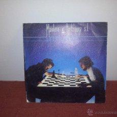 Discos de vinilo: MANTERO Y RODRIGUEZ S.L. SOBRE ONDAS SINGLE 1981. Lote 51627198
