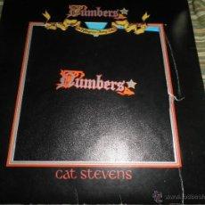 Discos de vinilo: CAT STEVENS - NUMBERS LP - ORIGINAL ESPAÑOL - ISLAND RECORDS 1975 - TROQUELADO FUNDA INT. Y ENCARTE . Lote 51628249