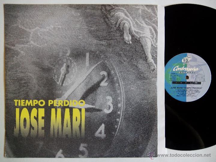 JOSE MARI. TIEMPO PERDIDO. MAXI CONTRASEÑA RECORDS CON-240-MX. ESPAÑA 1997. VALENCIA. (Música - Discos de Vinilo - Maxi Singles - Solistas Españoles de los 70 a la actualidad)