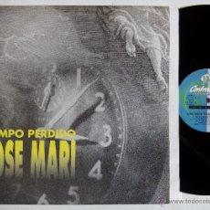 Discos de vinilo: JOSE MARI. TIEMPO PERDIDO. MAXI CONTRASEÑA RECORDS CON-240-MX. ESPAÑA 1997. VALENCIA.. Lote 51628271