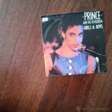 Discos de vinilo: PRINCE AND THE REVOLUTION-GIRL & BOYS. Lote 51630396