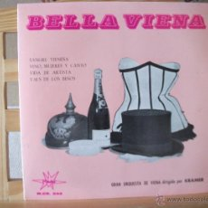 Discos de vinilo: EP VALSES IMPERIALES, VOL. II, 4 TEMAS, GRAN ORQUESTA DE VIENA DIRIGIDA POR KRAMER, MUY BUEN ESTADO. Lote 51632979