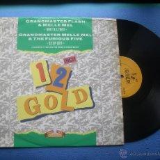 Discos de vinilo: GRAND MASTER FLASH & MELLE MEL WHITE LINES MAXI UK 1990 PDELUXE. Lote 296895008